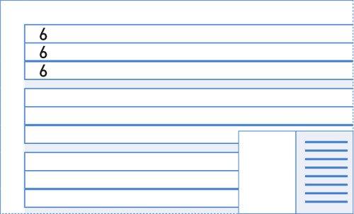 Ringbucheinlagen A4 französische Lineatur weiß 90g